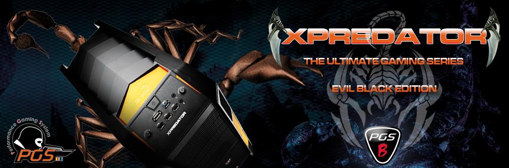 AeroCool PGS XPREDATOR X3 Evile Black