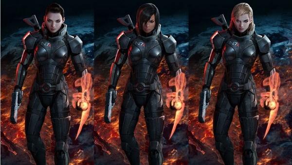 Голосуем за женского персонажа в Mass Effect 3 Блог ЗОНА51