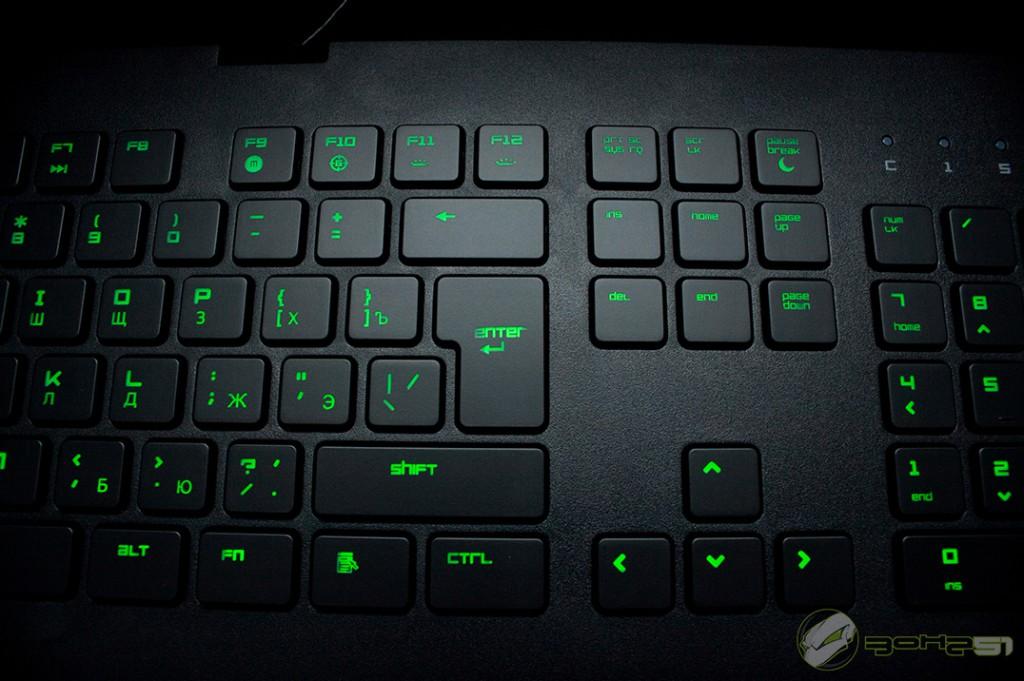 Обзо� иг�овой клавиа���� razer deathstalker Блог ЗОНА51
