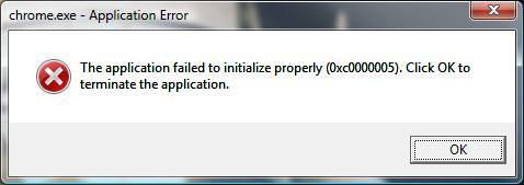 Злостный апдейт от Microsoft – ошибка 0xc0000005   Блог ЗОНА51