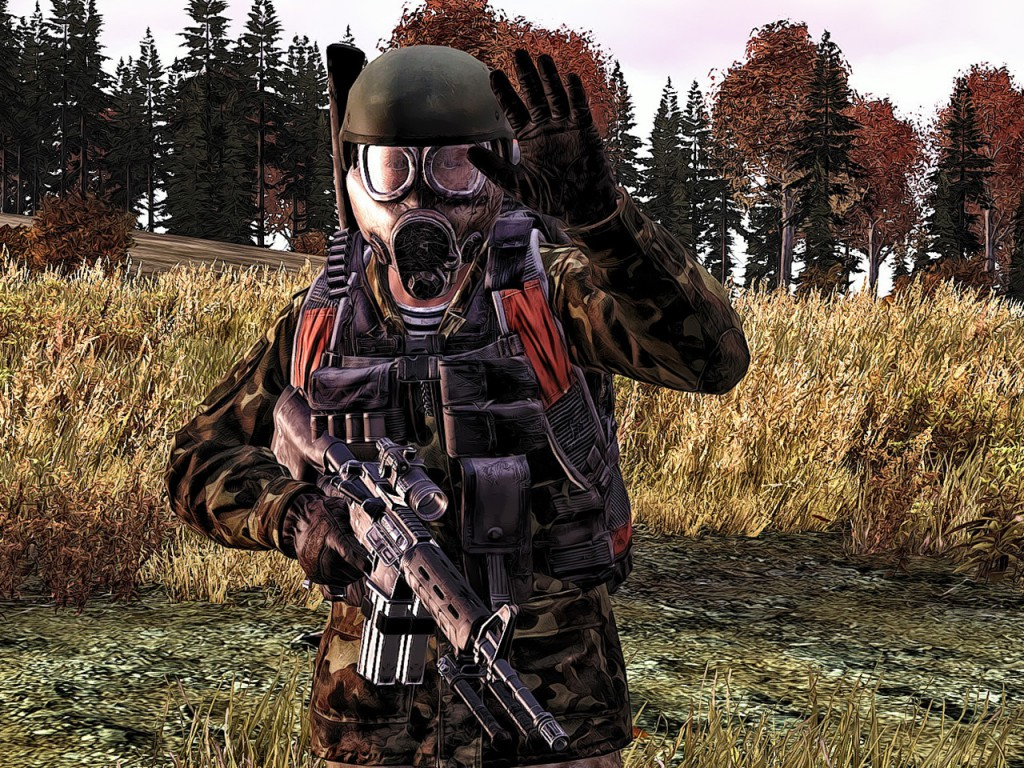DayZ запустили на движке игры Doom