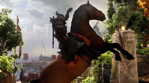 В игре Dragon Age: Inquisition можно обкатать 30 различных видов ездовых животных