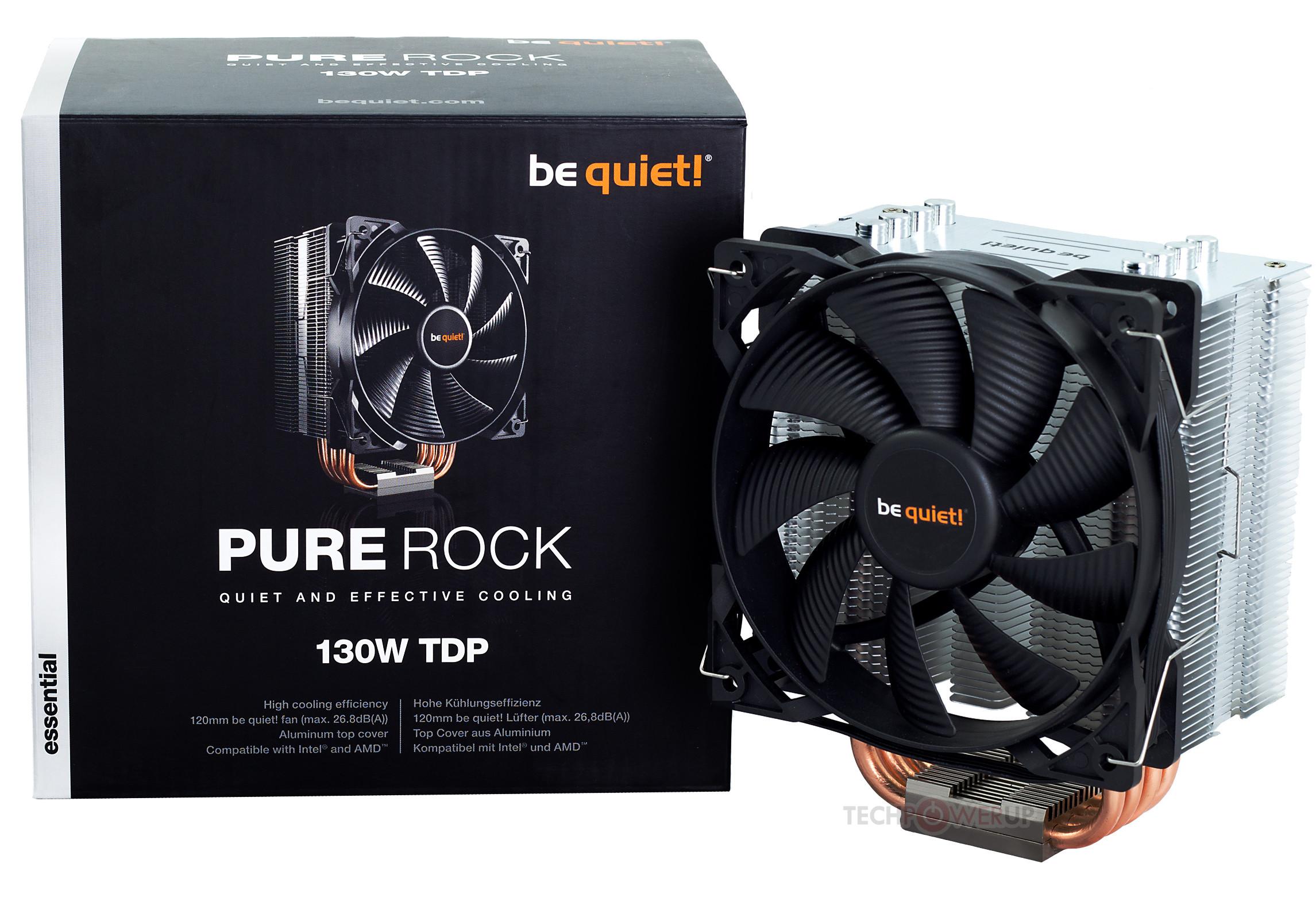 Be Quiet! анонсировали бюджетный процессорный кулер Pure Rock