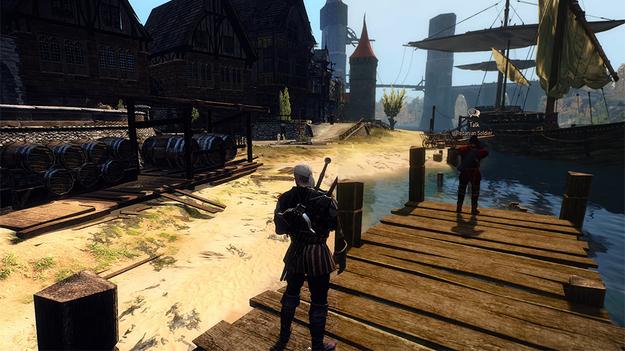Геймеры решили самостоятельно улучшить качество графики игры The Witcher 3: Wild Hunt