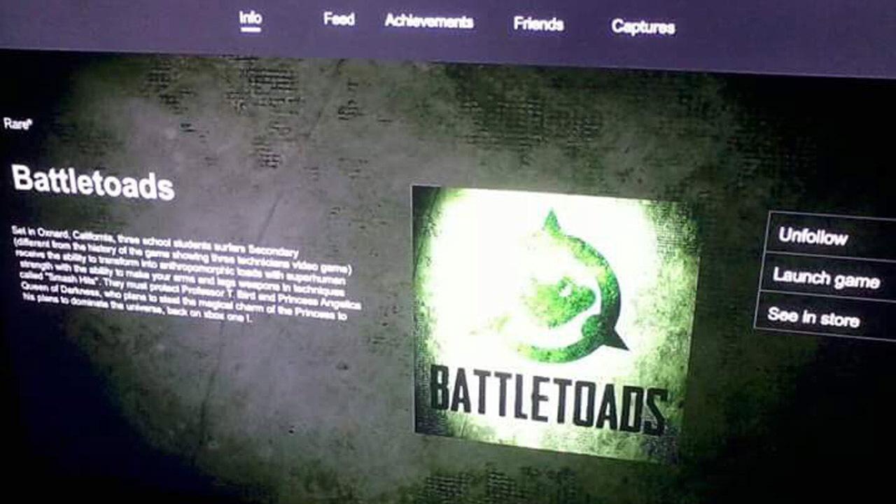 В сеть утекло первое изображение Battletoads — продолжения легендарной серии про могучих жаб