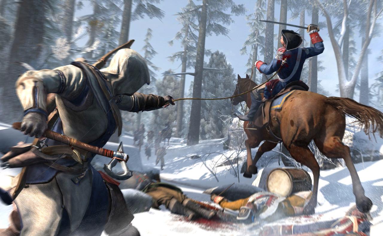 Assassin's Creed 3 станет финальным подарком на юбилей Ubisoft