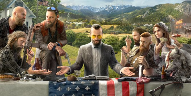 Far Cry 5Resistance Edition.