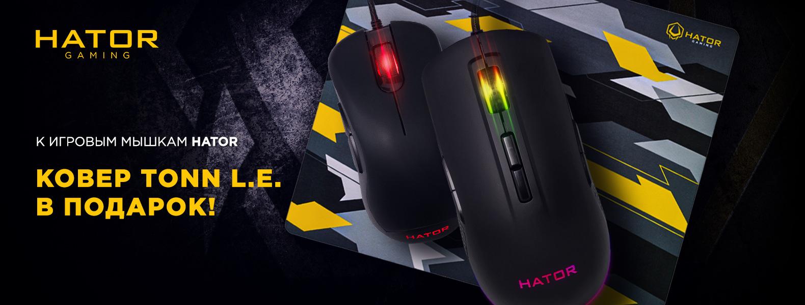 Игровая поверхность в подарок к новым мышкам Hator