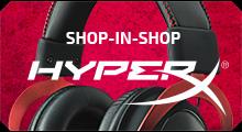 HyperX Shop-in-Shop. Официальный интернет магазин