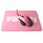 SteelSeries Iron.Lady Ikari Laser + Mouse Pad