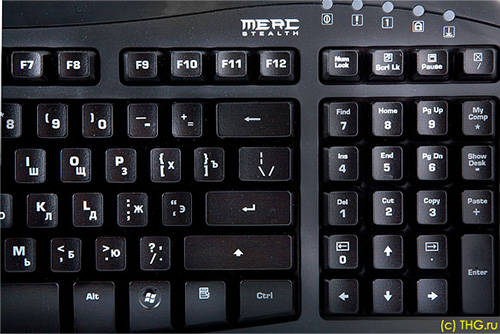 Ideazon ZBoard Merc Stealth