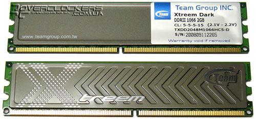 Team Xtreem Dark TXDD4096M1066HC5DC-D