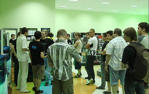 Покупатели StarCraft 2 в магазине ЗОНА51