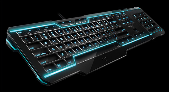 TRON Gaming Keyboard Designed by Razer