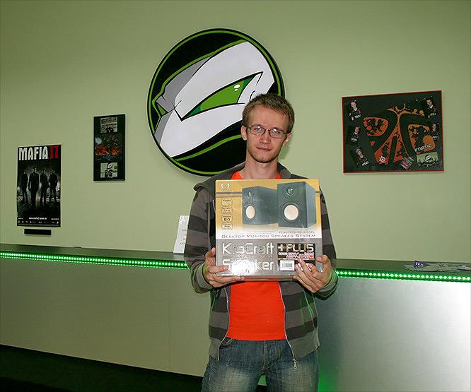 Победитель розыгрыша Scythe Kro Craft Speaker Plus в магазине ЗОНА51