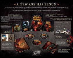 World of Warcraft: Cataclysm Collectors Edition - содержимое