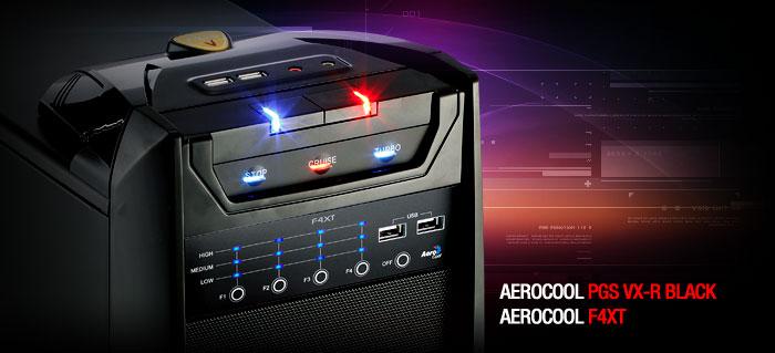 Акция AeroCool VX-R и F4XT в магазине ЗОНА51