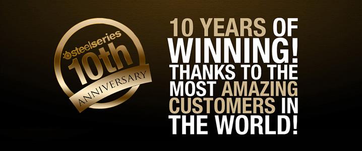 SteelSeries 10th Anniversary