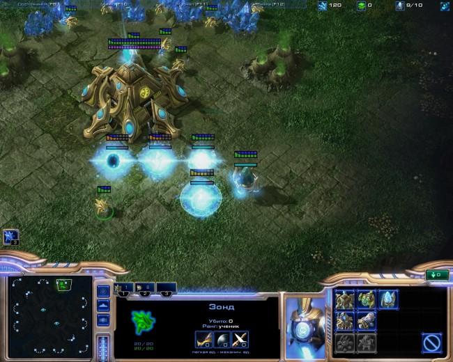 Настройка Razer Naga в StarCraft2