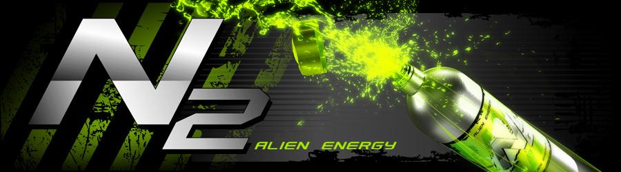 N2 Alien Energy - напиток для геймеров от магазина ЗОНА51