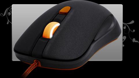 SteelSeries новая мышка. Дизайн 1