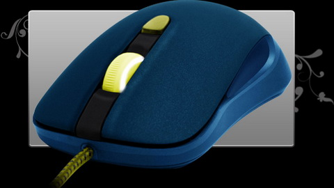 SteelSeries новая мышка. Дизайн 4