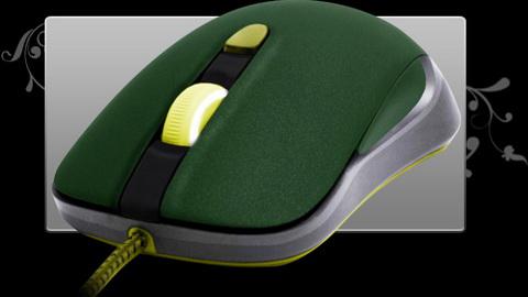SteelSeries новая мышка. Дизайн 7