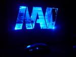 Креативный логотип Na`Vi - Олег Войтович