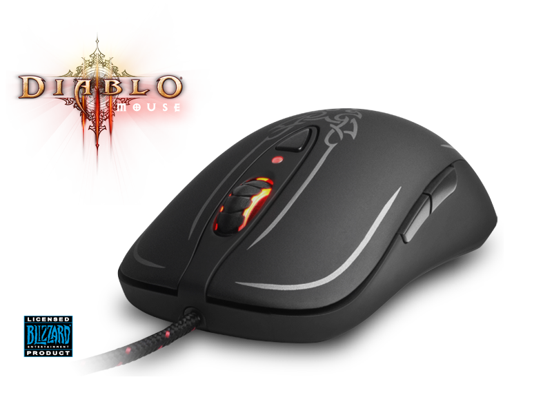 Мышь SteelSeries Diablo III