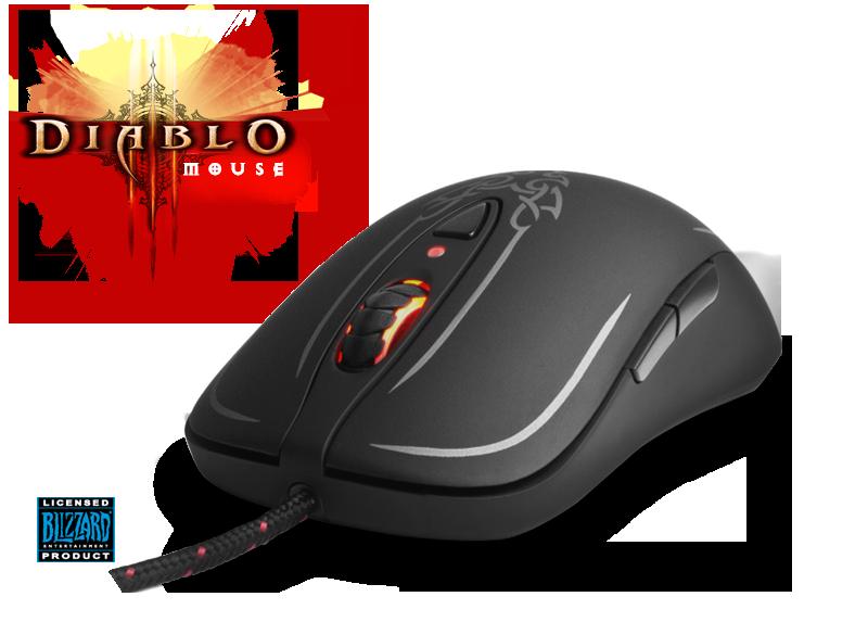 Мышь SteelSeries Diablo III
