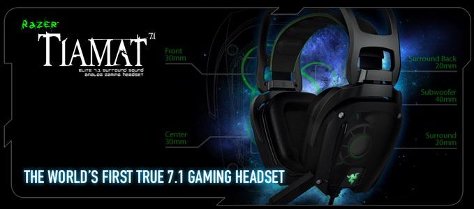 Razer Tiamat 7.1 - настоящий объемный звук!