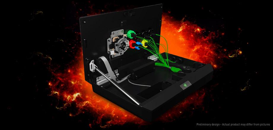 Razer аркадный джойстик, концепт