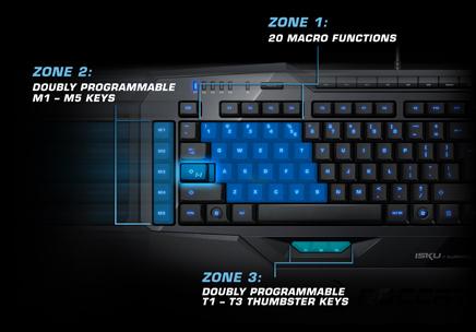 Roccat Isku keys