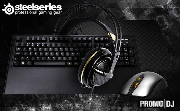SteelSeries комплект для конкурса Diana Miro