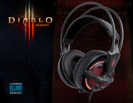 Steelseries siberia v2 diablo iii edition купить