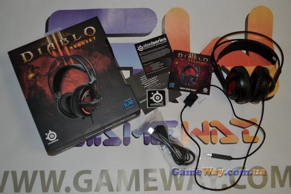 Обзор SteelSeries Diablo III Headset от GameWay