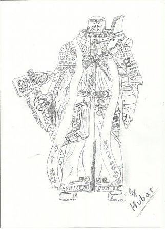 Diablo III Священник. Автор Hubar