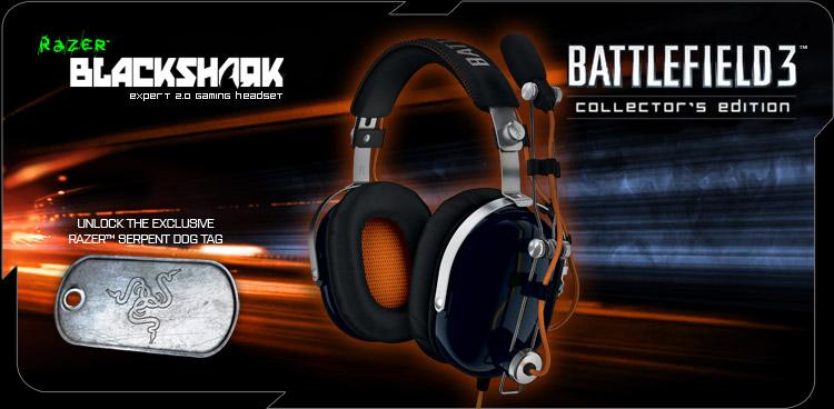 Razer BlackShark Battlefield 3