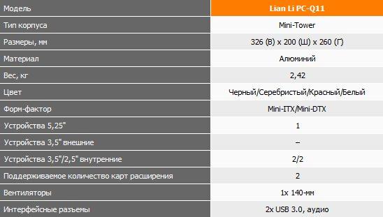 Lian Li PC-Q11
