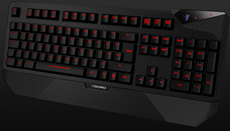 Обзор Tesoro Durandal eSport Edition keyboard