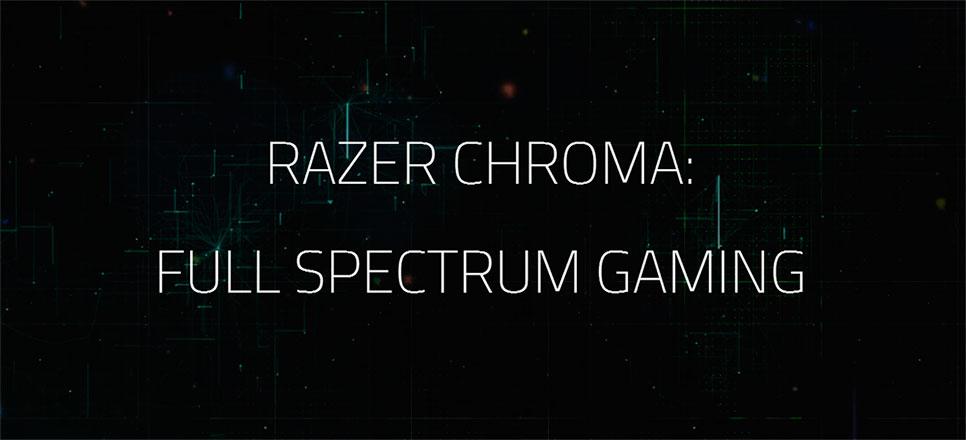 RAZER получает полный спектр цветов с новейшей функцией CHROMA