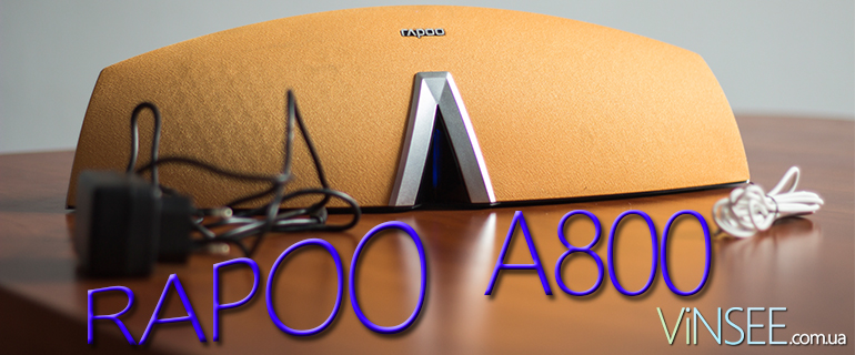 RAPOO A800 – огляд портативної-Bluetooth колонки