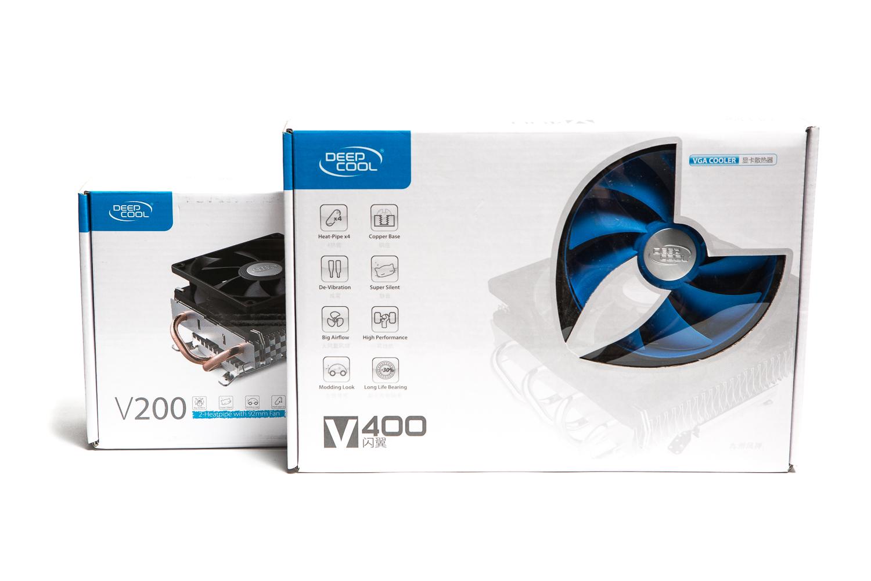 Два брата: тест и обзор видеокулеров DeepCool V400 и V200