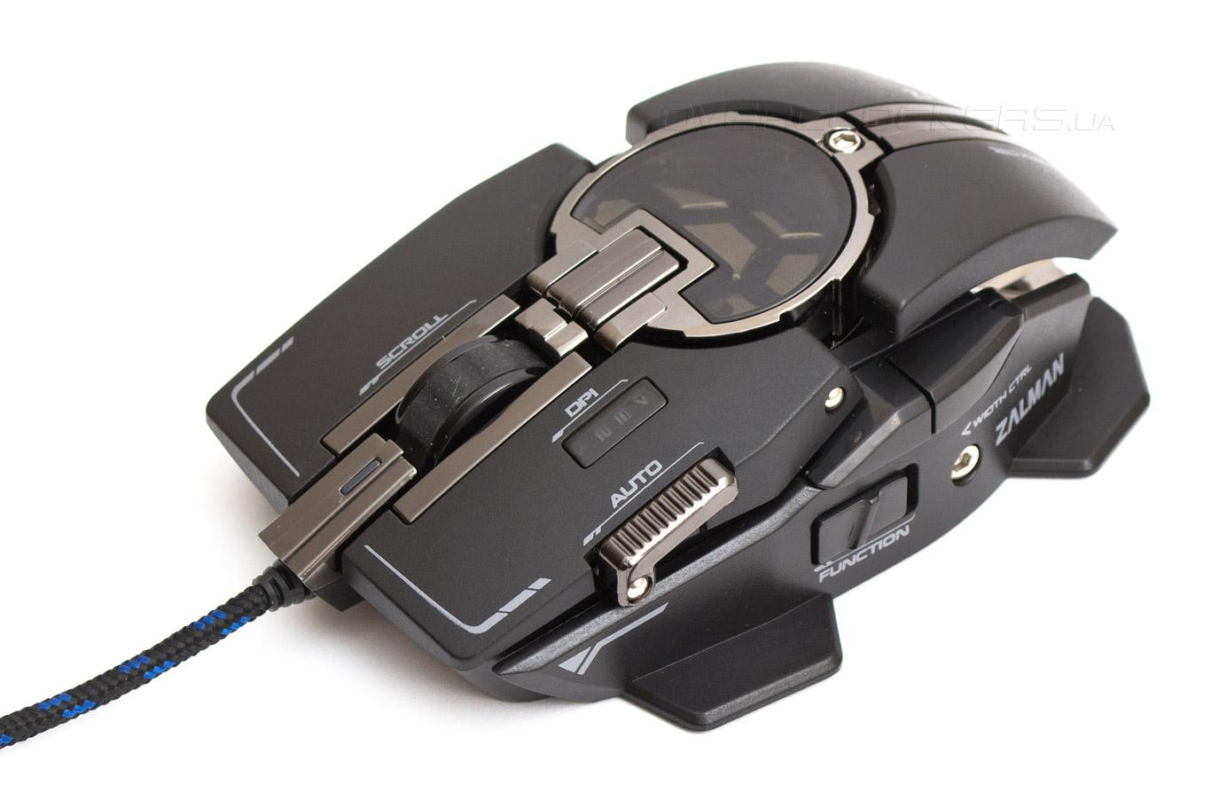 Обзор игровой мыши Zalman ZM-GM4 Knossos