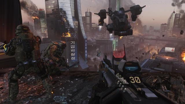 Call of Duty: Advanced Warfare. Примеряя экзоскелет