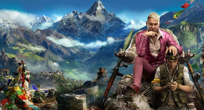 Far Cry 4 – Горы, пушки, два слона