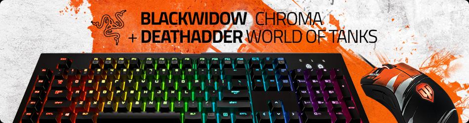 К лучшей клавиатуре Razer - мышка в подарок!