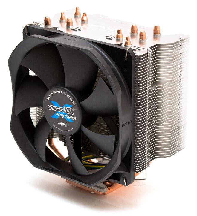 Обзор процессорного кулера Zalman CNPS10X Performa+