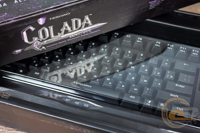 Обзор и тестирование игровой клавиатуры Tesoro Colada Evil