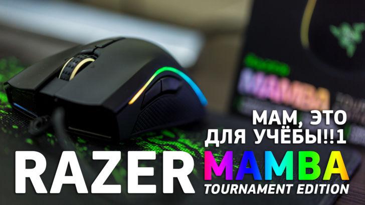 Обзор мышки Razer Mamba Tournament edition и игровой поверхности Razer Goliathus Control
